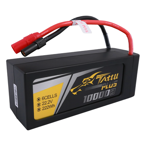 [TATTU PLUS] 10000mAh 22.2V 25C 6S1P