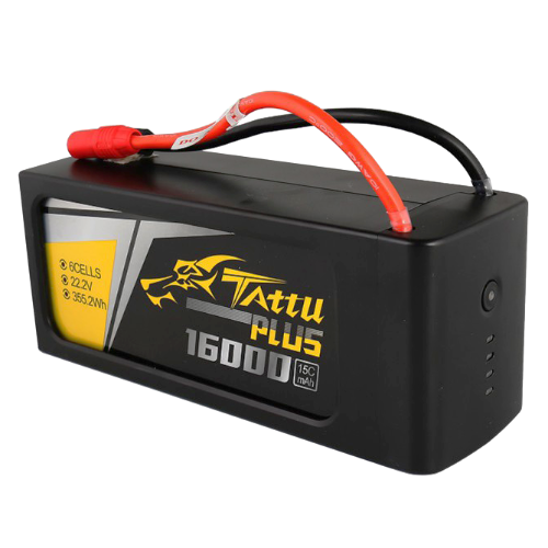 [TATTU PLUS] 16000mAh 22.2V 15C 6S1P